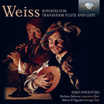Weiss Sonatas for traversière & lute